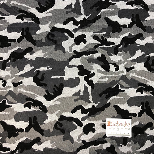 Dark Night Camo - Double Knit Jacque