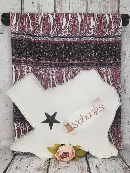 Paisley Boho Babe - Poly Spandex Knit