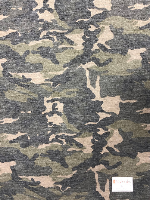 Saged Camo - French Terry