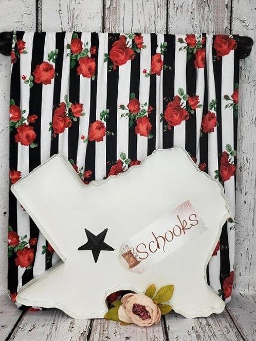 Jailhouse Rose - Brushed Poly Spandex