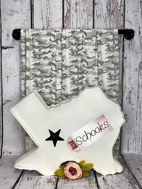 Calming Camo - Poly Rayon Spandex Knit