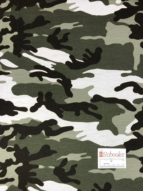 Covert Camo - French Terry