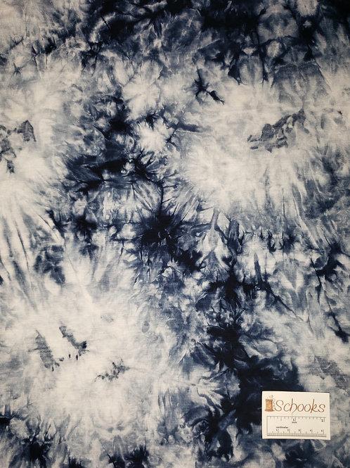 Deep Blue Night Sky - Rayon Spandex Knit