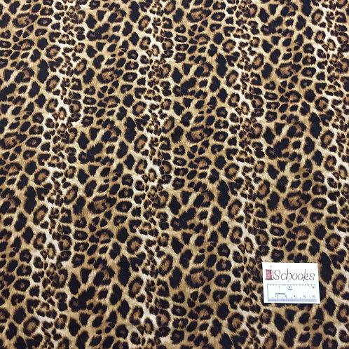 Safari Cheetah - Brushed Poly Spandex