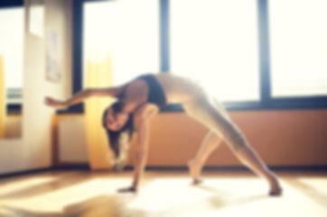Danseur dans le studio
