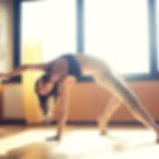 Tänzer im Studio