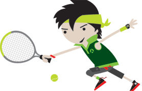 Mini Tennis Green