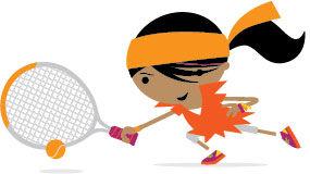 Mini Tennis Orange