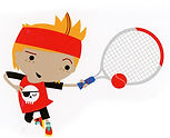 mini red tennis