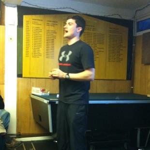 Picture of tennis psychologist Merlin van Den Braam
