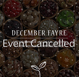 December Fayre - Event Cancelled