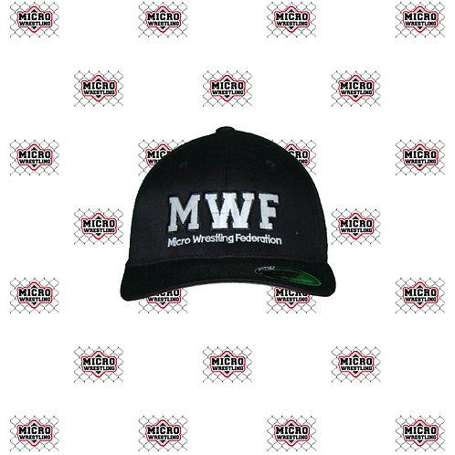 Micro Wrestling Black Flex Fit Cap