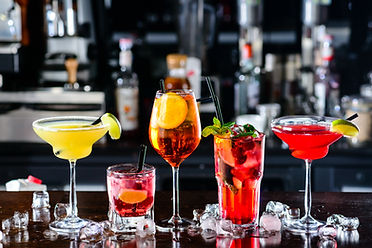 Selection of best selling cocktails mart