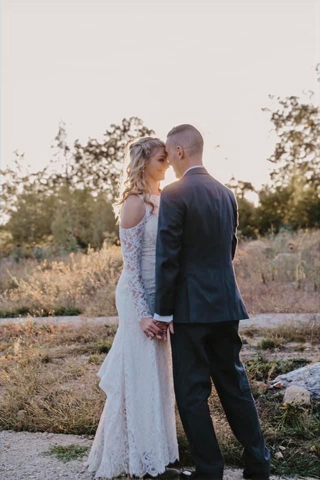 Late summer wedding