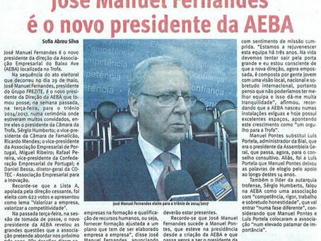 José Manuel Fernandes é o novo Presidente da AEBA