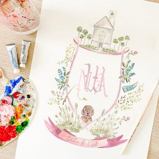 Watercolor wedding crest.jpg