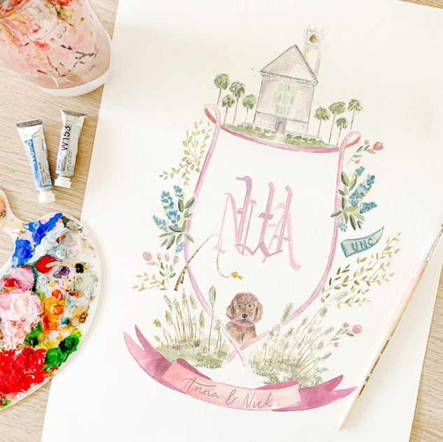 Watercolor wedding crest.jpg