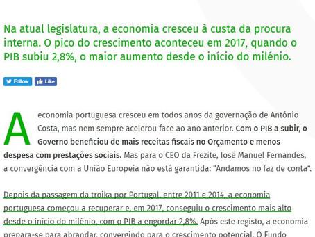 PIB cresce, mas não chega. CEO da Frezite pede mais