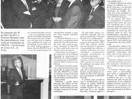 Primeiro-Ministro visitou a FREZITE