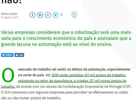 Os Robôs vão eliminar postos de trabalho. Sim ou não?