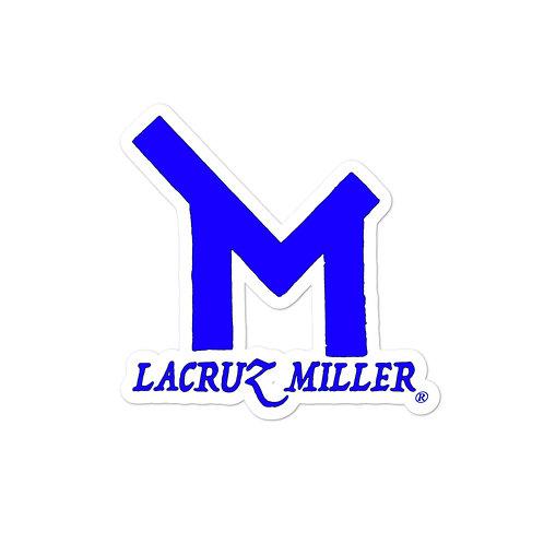 Blue LaCruz Miller stickers