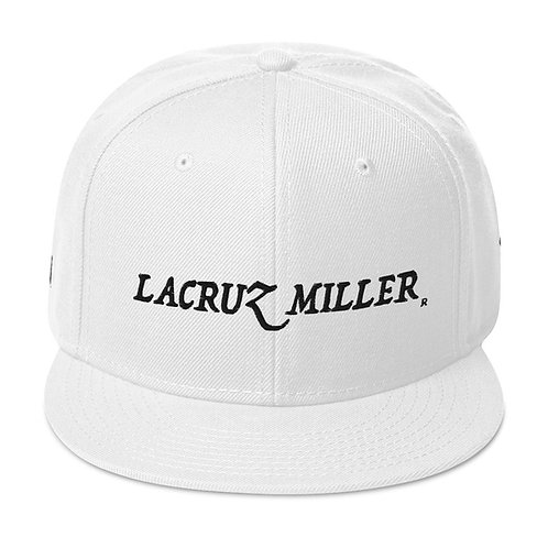 LaCruz Miller Black Logo Snapback