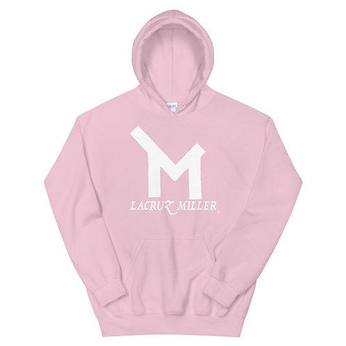 LaCruz Miller White Logo Women's Hoodie