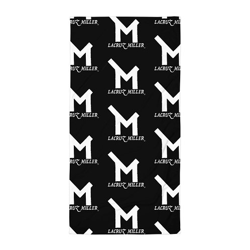 Black/White LaCruz Miller Towel