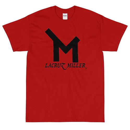 LaCruz Miller Black Logo Short Sleeve T-Shirt