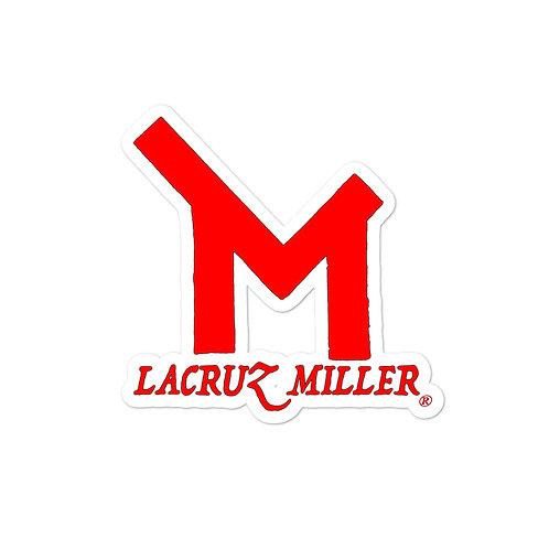 Red LaCruz Miller stickers