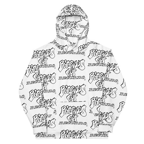 Precious Cut Records All Over Hoodie