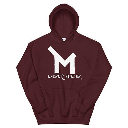 LaCruz Miller White Logo Men's Hoodie
