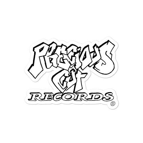 Precious Cut Records stickers