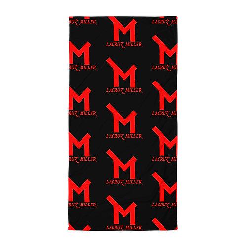 Black/Red LaCruz Miller Towel