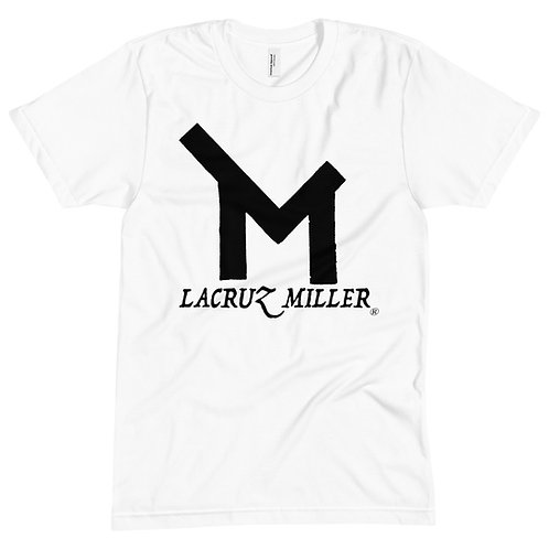 LaCruz Miller Black Logo Crew Neck Tee