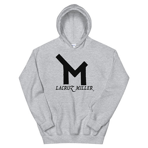 LaCruz Miller Black Logo Women's Hoodie