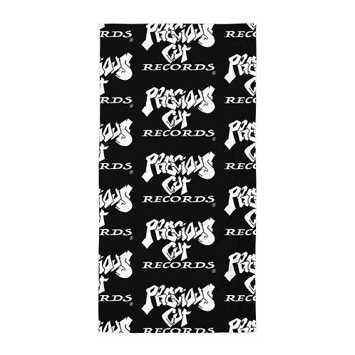 Black/White Precious Cut Records Towel