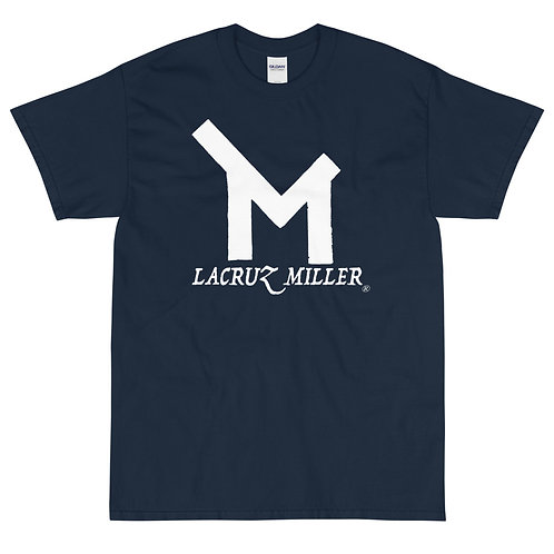 LaCruz Miller White Logo Short Sleeve T-Shirt