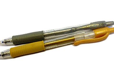 עט זהב/כסף ג'ל