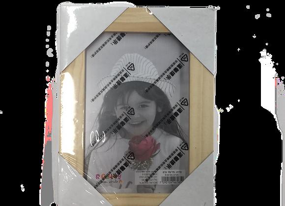 מסגרת עץ לתמונה 13/18 עם זכוכית
