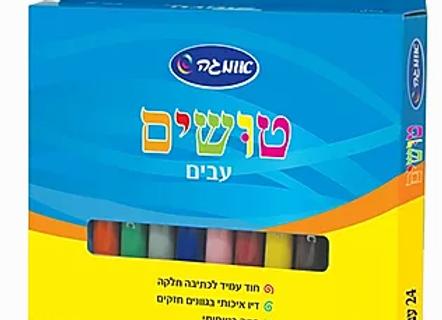 טושים עבים 12 יח' אומגה