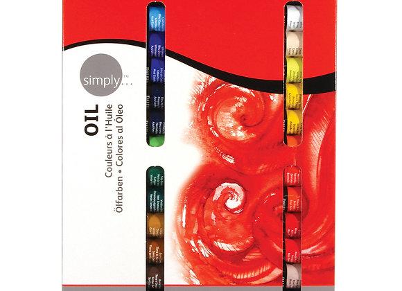 צבע שמן ראוני סימפלי 12 מל 24 יח