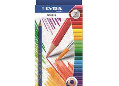 עפרונות צבעוניים ליירה 12 יח
