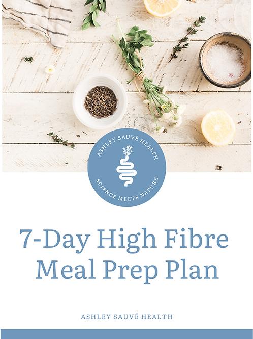 7-Day High Fibre Meal Prep Plan