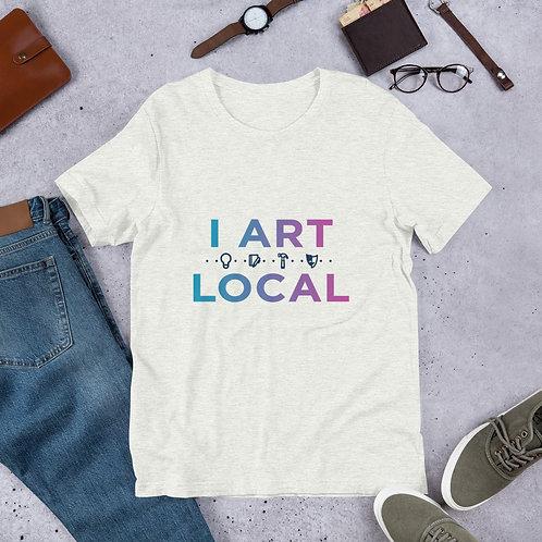 "Fundraiser Shirts ""I Art Local"""