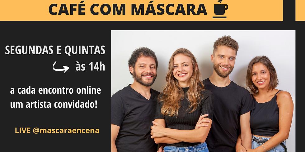 LIVE Café com Máscara