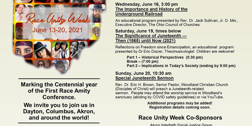 Race Unity Week