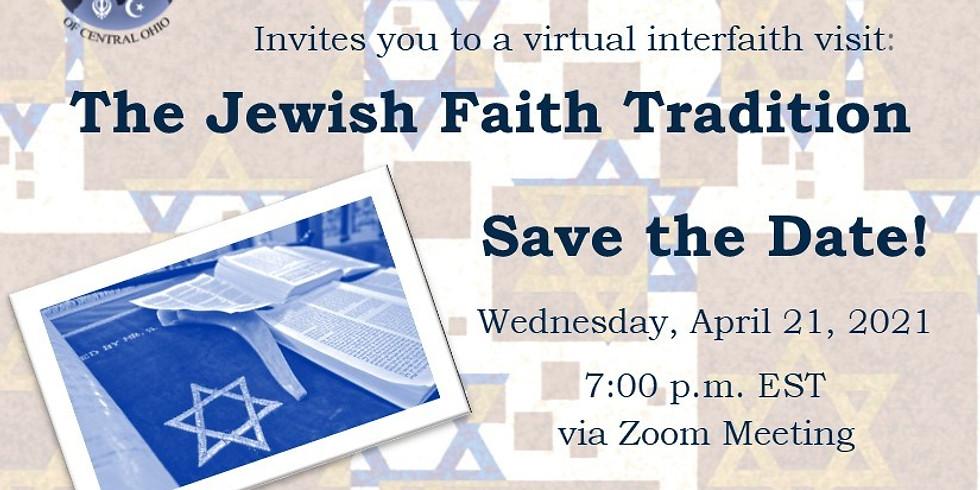 Virtual Interfaith Visit to the Jewish Faith Tradition