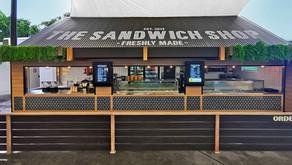 Retro Sandwich Shop Installation at dreamworld
