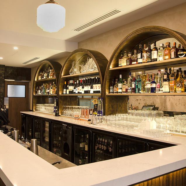 Commercial Bar Shopfitting, Commercial Bar Supplies, Gold Coast, Gold Coast Shopfitting, Brisbane Restaurant Design, Restaurant Design, Bar Design